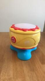 Grow play spinning music drum