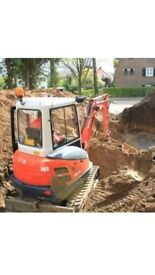 All types of digger work completed 100%