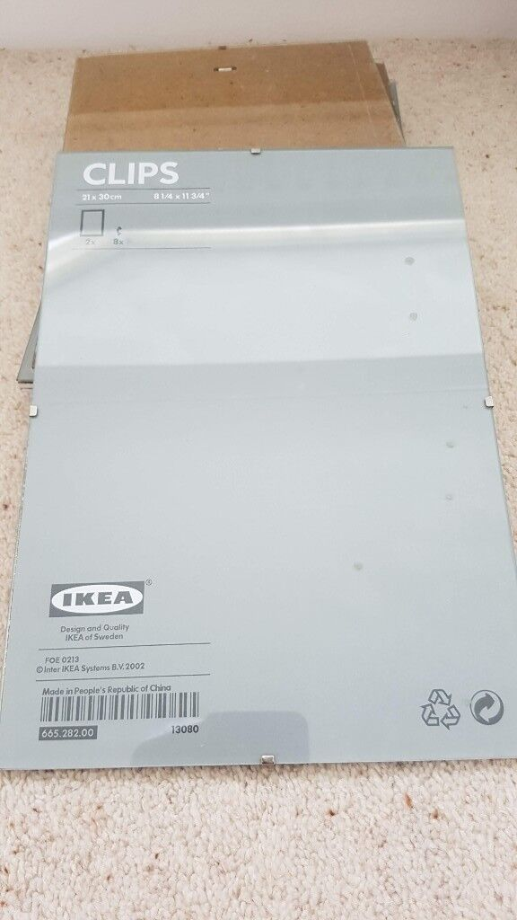 Ikea Picture Frames for certificates/A4 pictures (6) + 1 smaller one ...