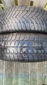Tyres (pair)for sale