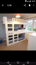 Kid's Funtime Beds Triple Sleeper