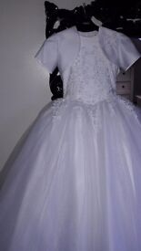Stunning one of a kind first holy communion dress!