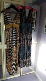 2 x summer dresses