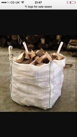 Log sticks and firewood
