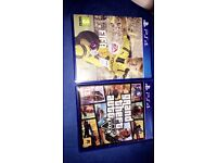 Ps4,Fifa 17 and gta