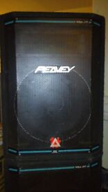 PEAVEY HISYS 2 SPEAKERS for DJ/PA use. 350W/ch.