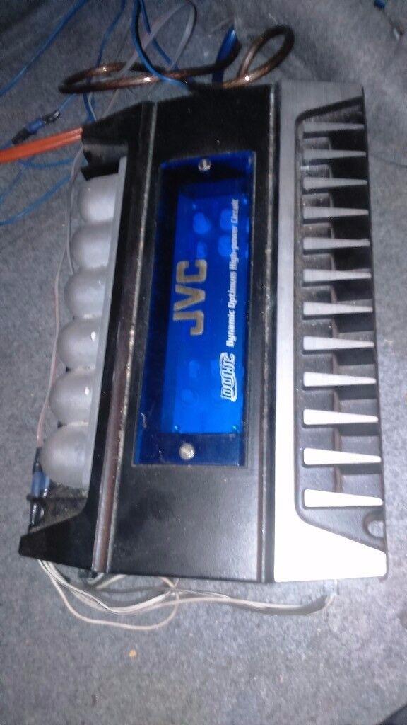 JVC KS-AX6500 is a bridgeable 4-channel amplifier