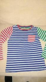 Joules long sleeve top age 9-10