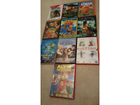 10 Kids DVDs. £2 each