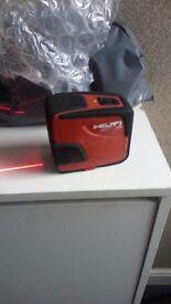 Hilti PmL42 Line Laser Level Self-levelling