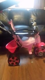 Toys r us pink girls trike