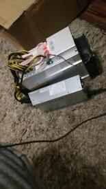 Antminer D3 with PSU... 2x modified
