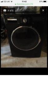 Black Servis washing machine
