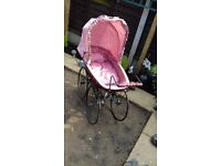 a nice looking looking pram to look like victorian in lovely condition