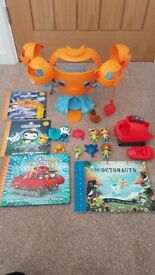 Cbeebies Octonauts bundle of toys and books
