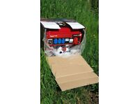 Petrol generator. W-8500.New Model 2018.50 HZ. 220-380 rated frequency. Unused. Still the box.