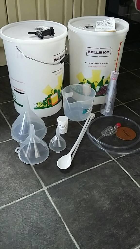 Balliihoo wine making starter kit