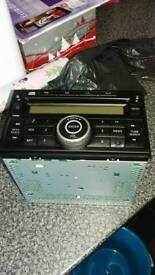 Cd radio for Nissan Duke