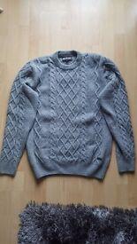 Barbour wool jumper