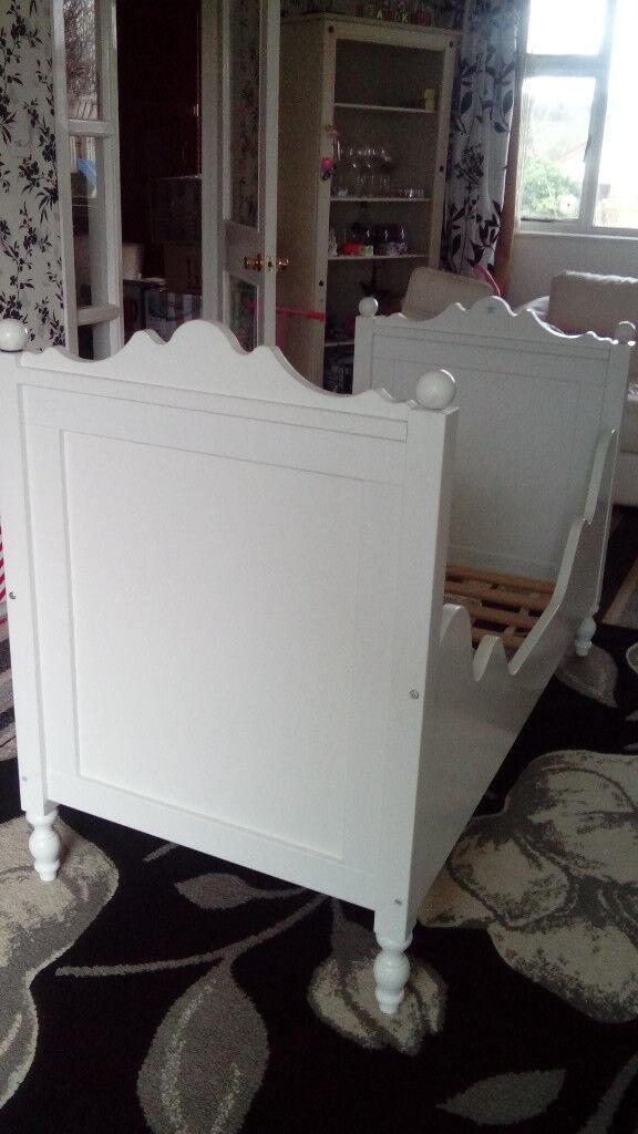 Bopita Junior Bed.White Bopita Junior Bed In Lisburn County Antrim Gumtree