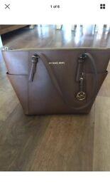Michael Kors Brown Jet Set Handbag