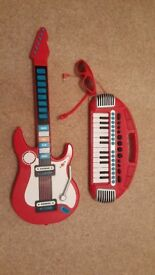 ELC piano and guitar