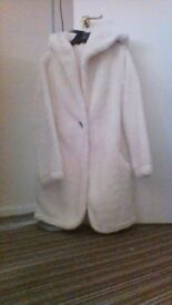 brand new fleece gown and slipper boots