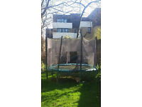 10 foot (3m) outdoor trampoline