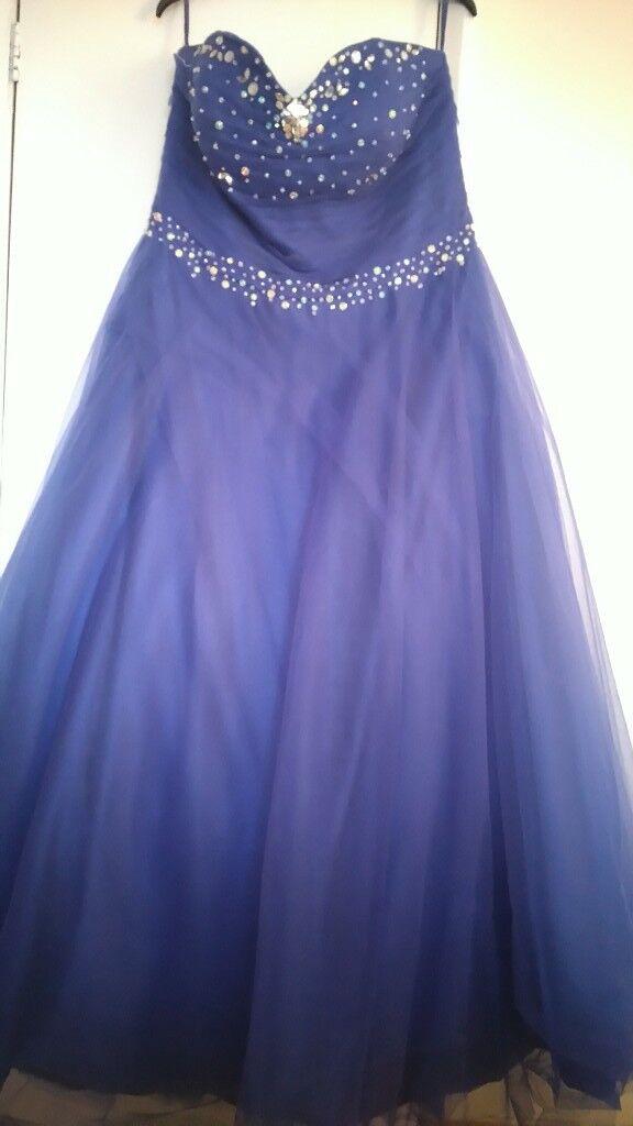 royal blue prom dress,bridesmaid dress | in Castleford, West ...