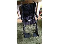 Drive transport wheelchair (like new)