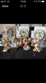 Collection of Authentic cherish teddies