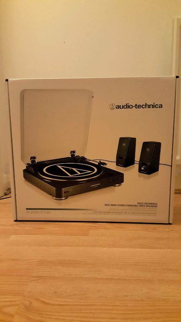 Brand new boxed/unopened Audio-Technica LP60 turntable and