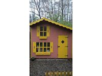 lovely childrens garden playhouse(two levels)