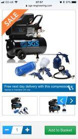 SGS ENGINEERING AIR COMPRESSOR