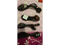 Power Cord UK Plug to IEC Cable (PC Mains Lead) 1m