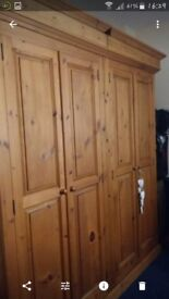LOVELY DOUBLE WARDROBES X 2