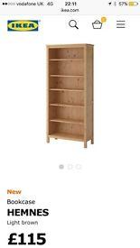 Black/brown bookcase