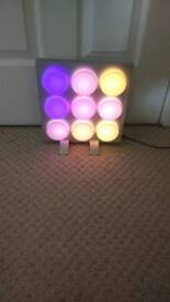 Lego style colour changing light