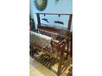 vintage edwardian weaving loom