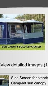 Camplet concord trailer tent with extras