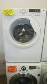 HOOVER 9KG LOAD 1400 SPIN WASHING MACHINE IN WHITE