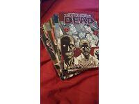 Walking dead volumes 1-9