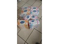 VELVET tissues pack of 4 few avaiable
