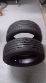 2 GOODYEAR EXCELLENCE STANDARD TYRES 195/50R 15 82H.