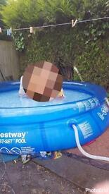 10ft pool with filter