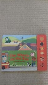 Musical book - The Wheels on the Bus (M&S) with batteries