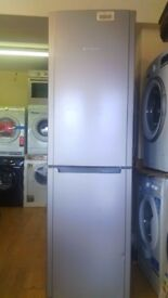 HOTPOINT 60/40 silver fridge freezer