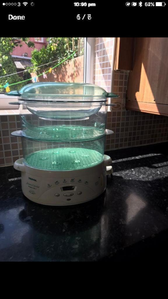Very good quality three tierTEFAL steamer in very good condition