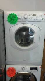HOTPOINT WHITE 7KG LOAD 1400 SPIN DIGITAL SCREEN WASHING MACHINES