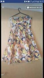 Colourful Oasis summer dress